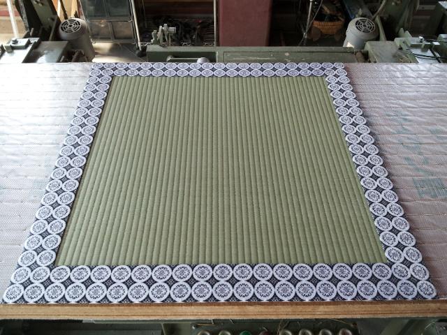特殊な畳「有職畳(ゆうそくたたみ)」