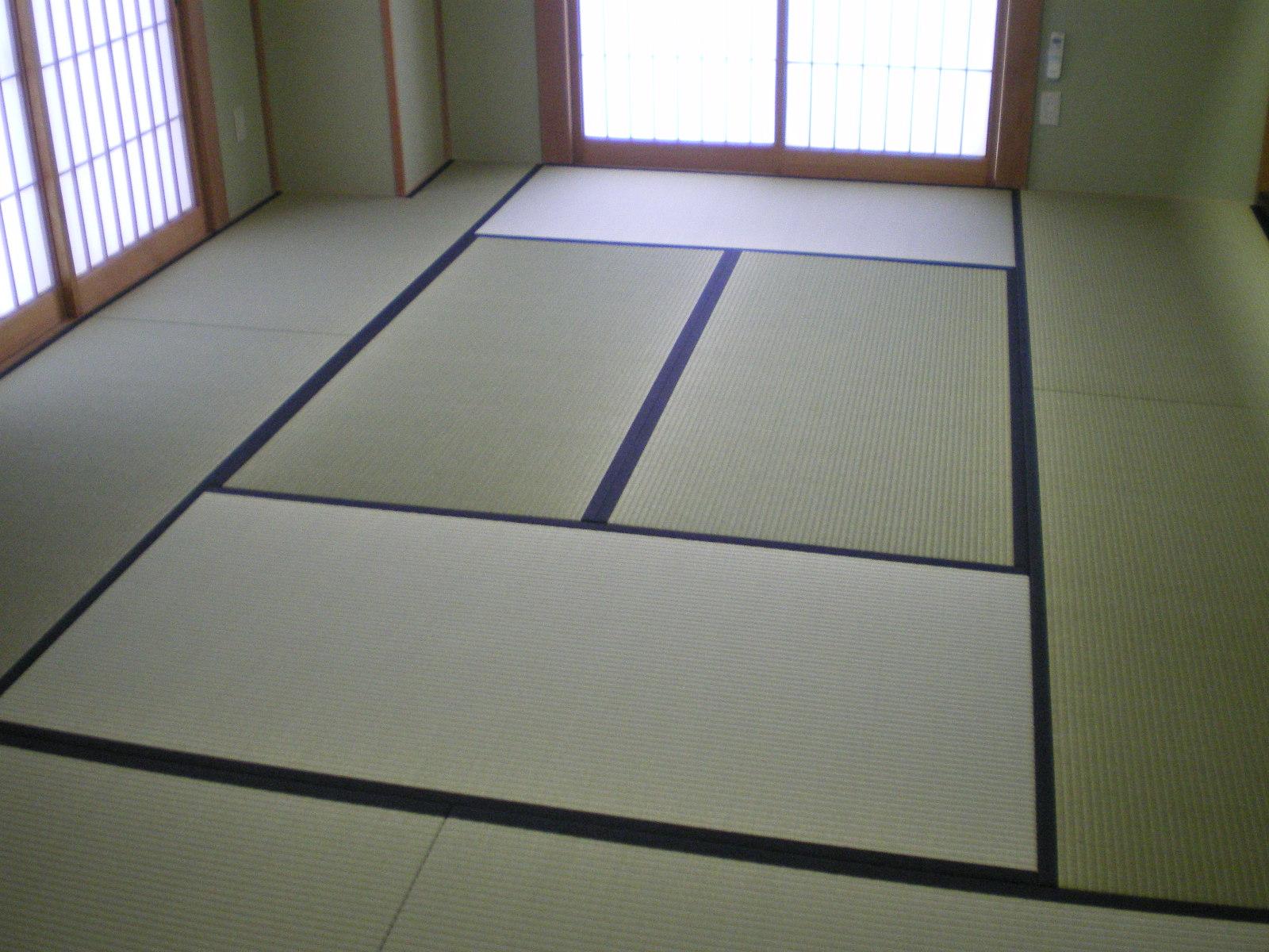 ホテルのスイートルームに新畳を納めました