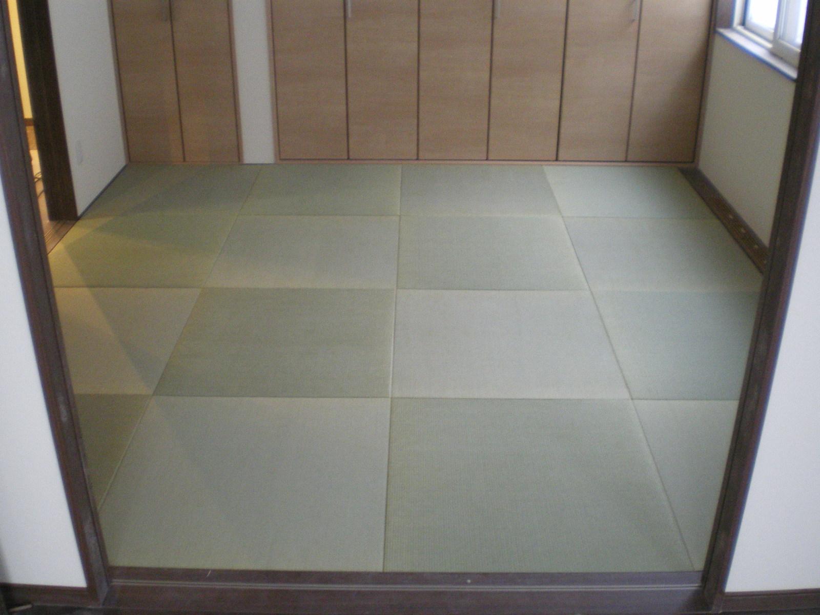 へりなし琉球畳(国産い草畳表)