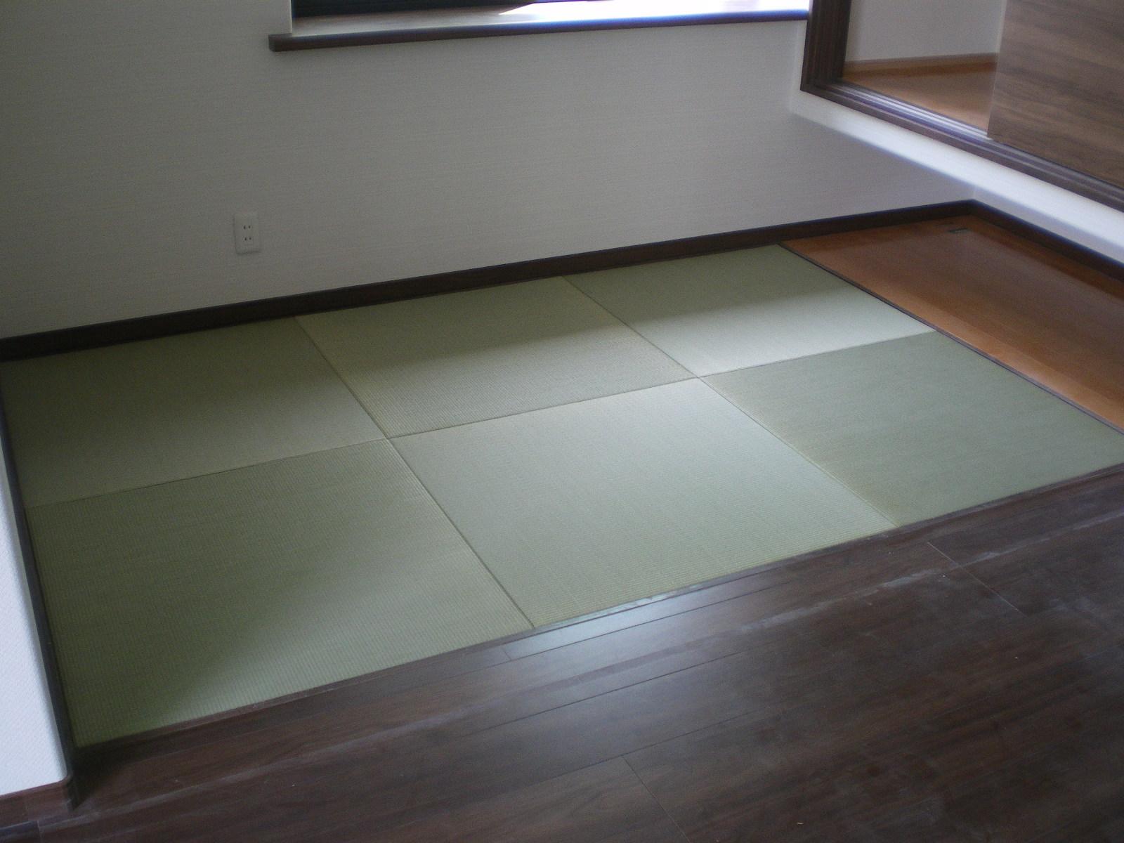 へりなし琉球畳(天然い草)※動画付き