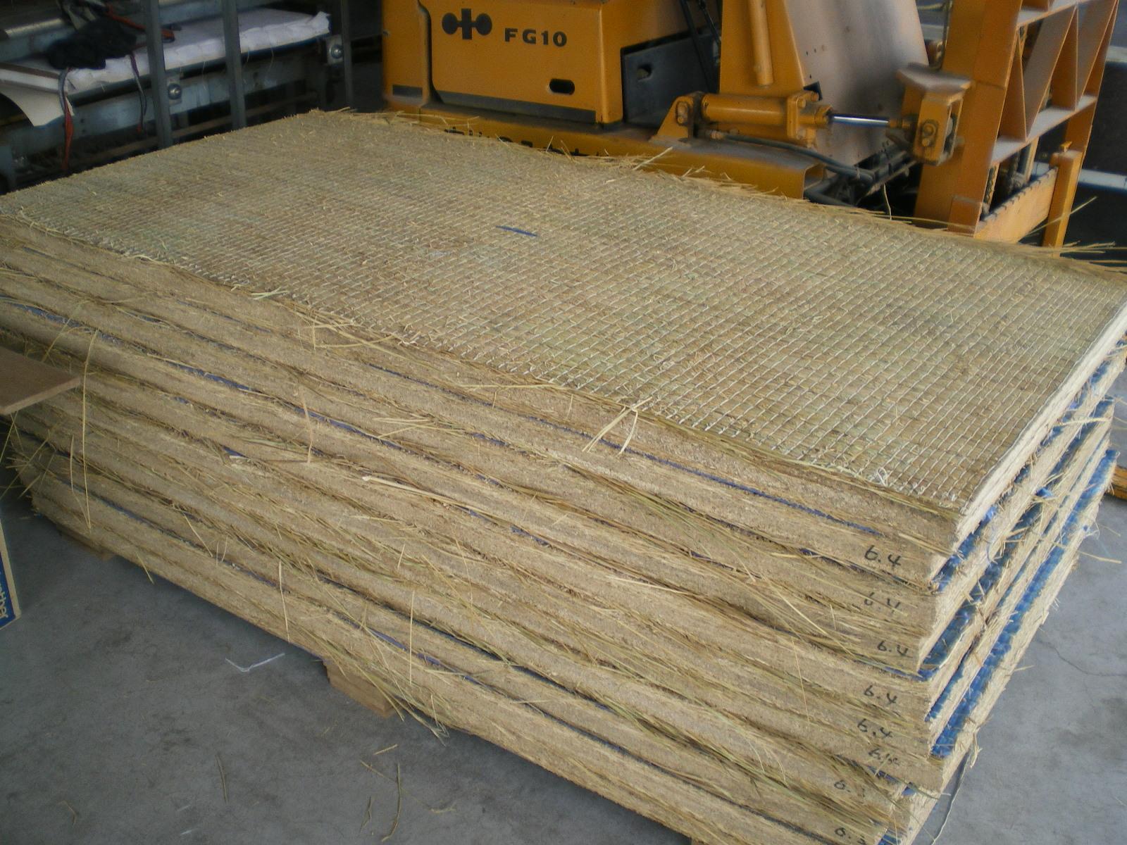 稲ワラ本畳床