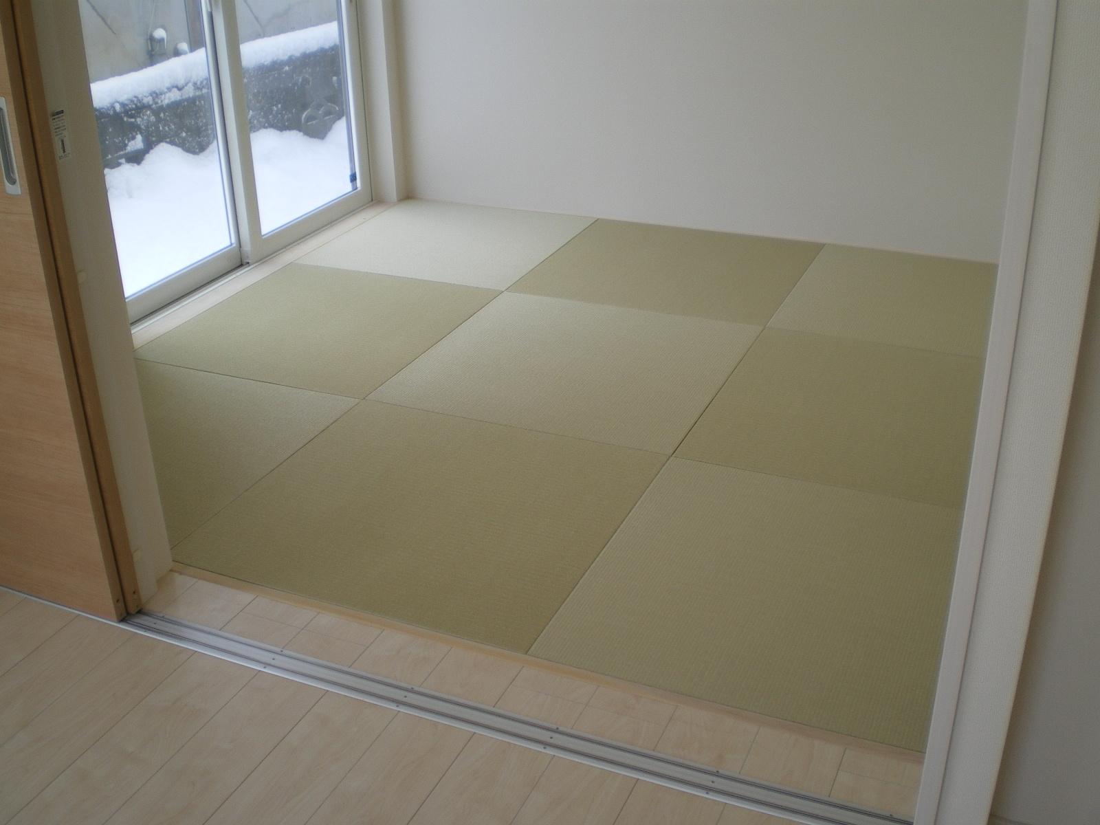 へりなし琉球畳(若草色)
