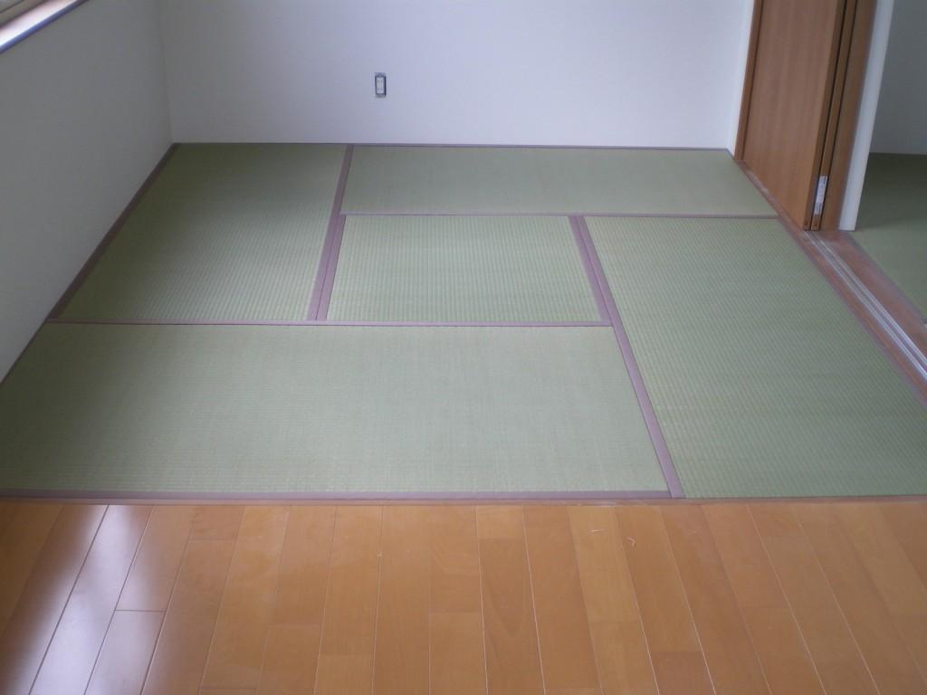 4畳半×2部屋 新畳納品!
