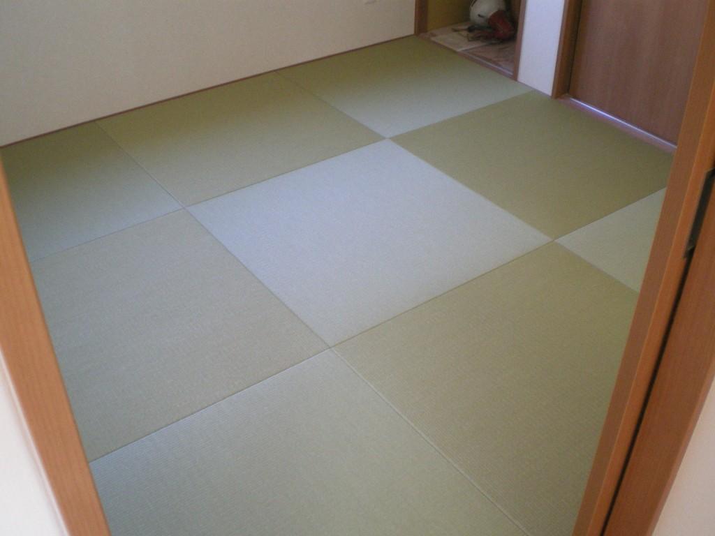 へりなし琉球畳(銀白色)