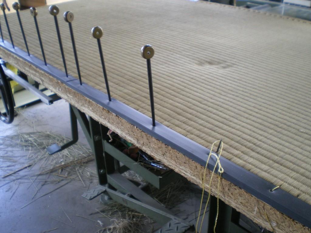 へりなし琉球畳を表替え