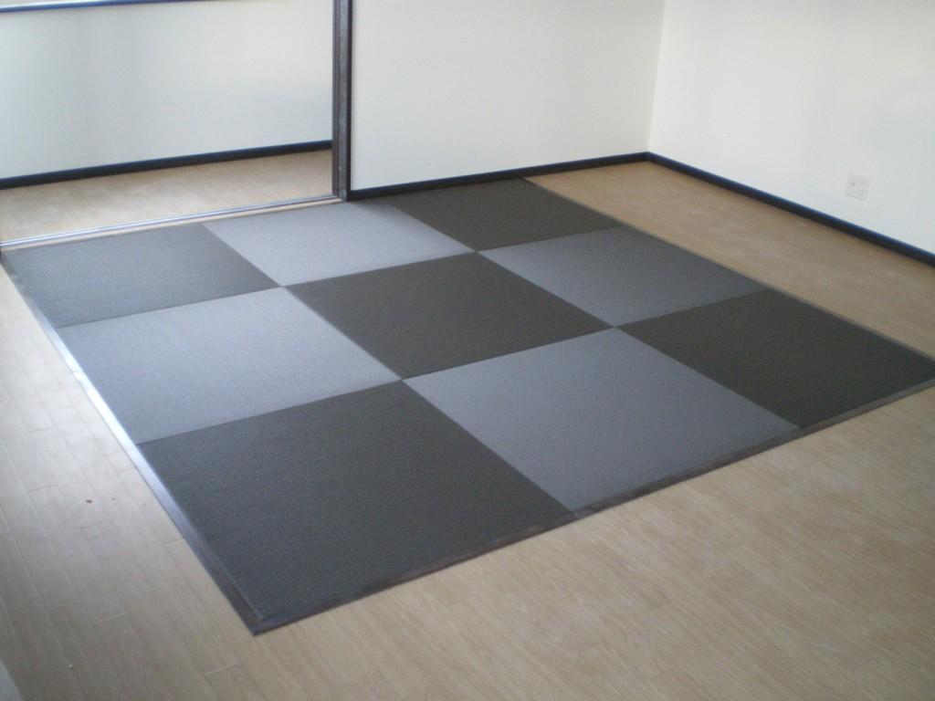 へりなし琉球畳(栗色)