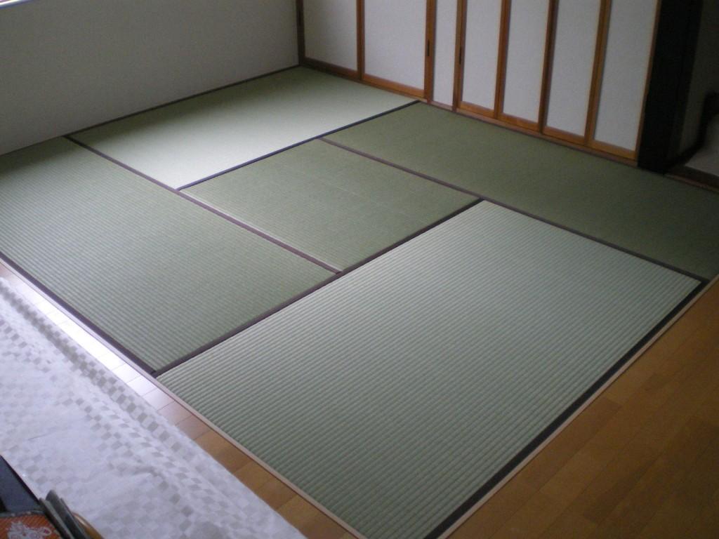 新畳(一本縁)※伝統テクニックです!