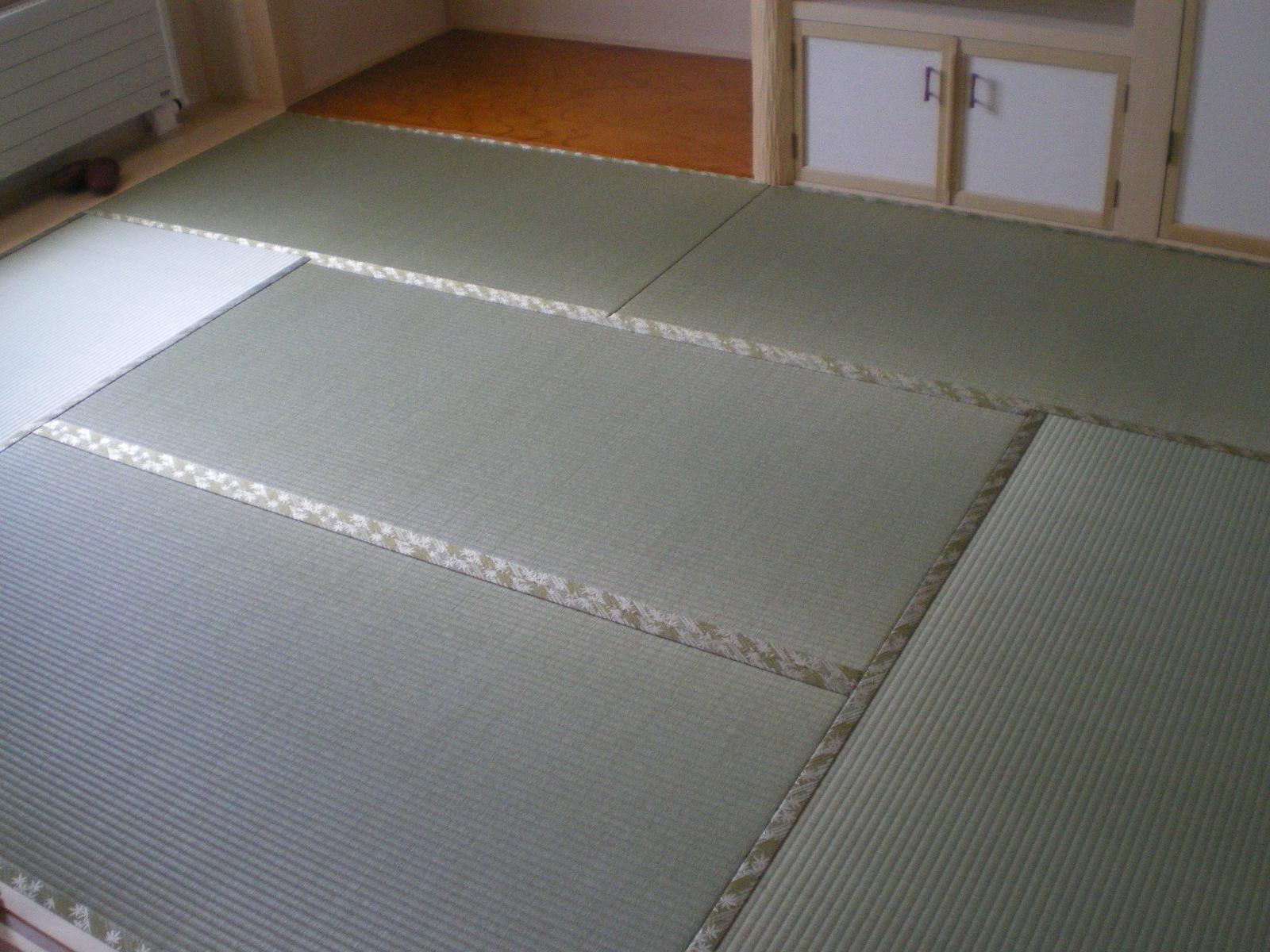 新畳(畳縁:HANA香織Ⅰ)