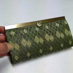 畳縁で作った長財布