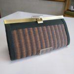 畳で作った長財布